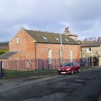 Bradford Canal pumping station (1872) and lock-keepers cottage (purportedly 1774 but more likely mid 19th C.), Шипли