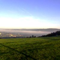 Early Morning Fog Over Shipley And Up the Aire Valley, Шипли