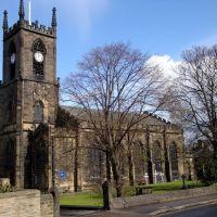 ST PAULS PARISH CHURCH, Shipley, West Yorkshire., Шипли