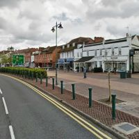 Street view of Hamptons International Lettings property to rent on 145 High Street in Epsom, Эпсом
