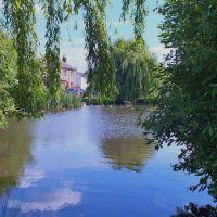 West End Park Pond Esher Surrey England, Эшер
