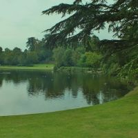 A Lake with a view,Claremont Gardens,Portsmouth Rd Esher, Эшер