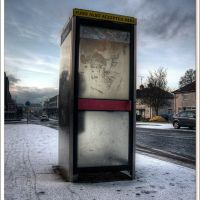telephone booth / 2010, Баллимена