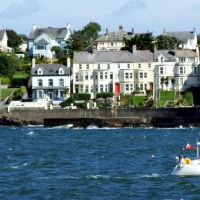 View Across Bangor Bay to Seacliff Road, Bangor, Co. Down, Бангор