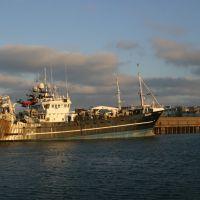 Boat in Bangor Marina, Бангор