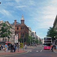 Belfast, Northern Ireland. City centre, Белфаст
