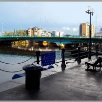 The River Lagan in BELFAST (IRELAND).............a Lagan folyó Belfastban (3), Белфаст