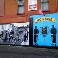 Murals protestants a Belfast, Белфаст