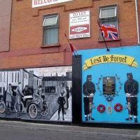 IRLANDA DEL NORTE Shankill Road Belfast, Белфаст