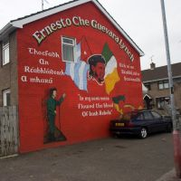 Derry (Londonderry) - mural, Лондондерри
