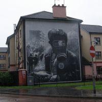 Mural no Bogside, Derry, Лондондерри