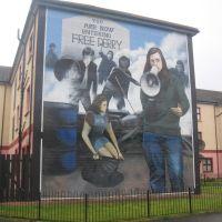 Mural (Bogside), Лондондерри