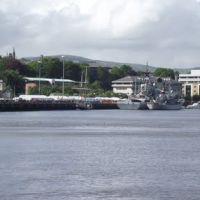 Derry, panorama, Лондондерри