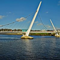 Peace Bridge, Derry, Londonderry., Лондондерри