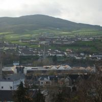 Butter crane Shopping Centre and Barcroft Park from Abbey Heights  Newry ., Ньюри