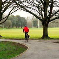 Bute park biker, Кардифф