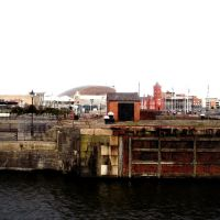 Cardiff Bay - old and new, Кардифф