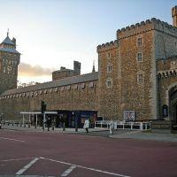 Cardiff Castle, (Caerdydd, Cymru), Кардифф