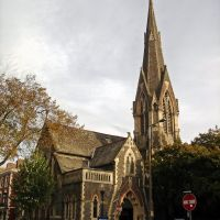 Caerdydd, Cumry. Cardiff. Church, Кардифф