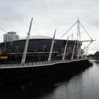 O Estádio do Milênio de Cardiff, Кардифф