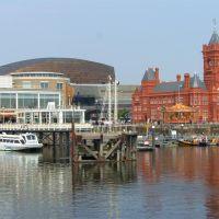 Cardiff bay, Кардифф