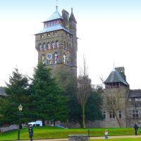 Royaume-Uni, la Tour du Château de la famille Bute à Cardiff, Кардифф