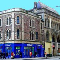 Royaume-Uni, The Square dans  de la ville de Cardiff, Кардифф
