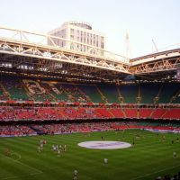 Millenium Stadium, Cardiff - Wales v Germany 2007, Кардифф