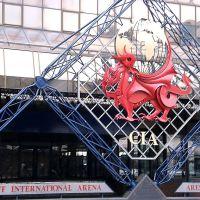 O Dragão Vermelho de Gales, Cardiff International Arena, Кардифф