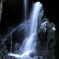 Famous waterfall near Hafod, Керфилли
