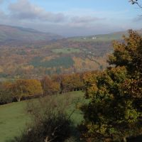 Autumn in the South Wales Hills above Tonna, Порт Талбот
