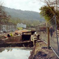 Neath Canal. Clyne Lock restoration, Порт Талбот