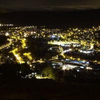 Rhondda Fawr at Night, Рондда