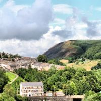 Ferndale & the mountain, Рондда