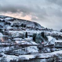 Ferndale snow, Рондда