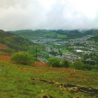 View of Tonypandy from Penrhys, Рондда