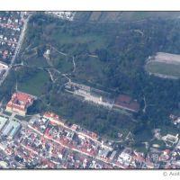 Eisenstadt - Schloss Esterhazy (Aerial view 4/2012), Айзенштадт