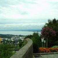 Bregenz - Bodensee (Blick vom Gebardsberg), Брегенц