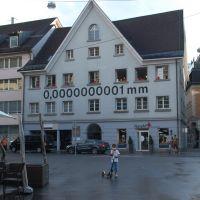 0,0000000001 mm....cioè?, Брегенц