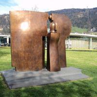 Escultura em Bronze de Herbert Albrecht em Bregenz, Брегенц