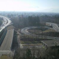 Rheintalautobahn, Брегенц