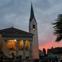 Dornbirn - Markplatz - Donnerstag-Abend-Stimmung, Дорнбирн