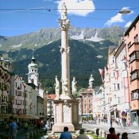 Annasäule in Innsbruck, Инсбрук