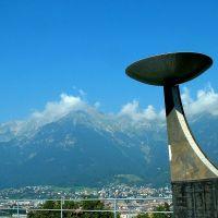 Autriche, Innsbruck ville du Tyrol, les jeux olympiques 1976, Инсбрук