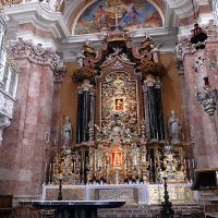 Innsbruck.  Dom St. Jacob.  Altar., Инсбрук