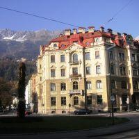 Innsbruck, Claudiaplatz, Инсбрук