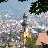 Innsbrück - Austria - Tirol - Vista general - ecm, Инсбрук