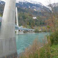 Hungerburgbahn brücke, Инсбрук