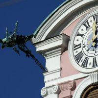 #27- CSP novembre 2010 - Particolare di orologio e grondaia a Innsbruck - Austria  ( by Fabio ), Инсбрук