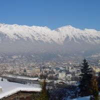 Austria,Tyrol, Innsbruck, panorama, Инсбрук